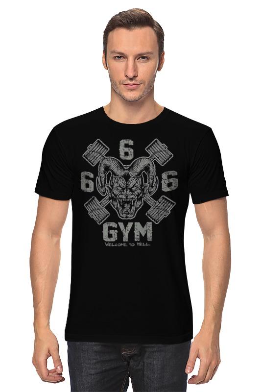 все цены на Футболка классическая Printio 666 gym онлайн