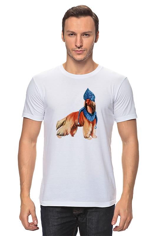 Футболка классическая Printio Акварельная новогодняя собака футболка классическая printio акварельная новогодняя забавная собака