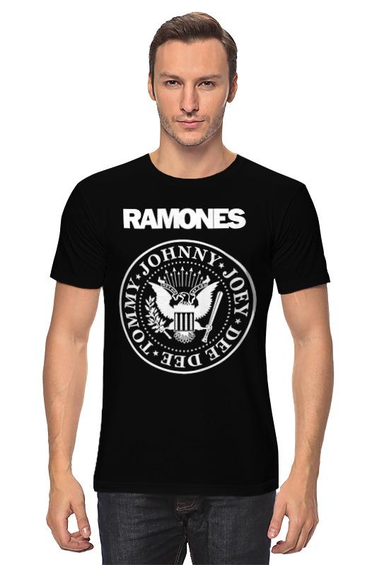 Футболка классическая Printio Ramones