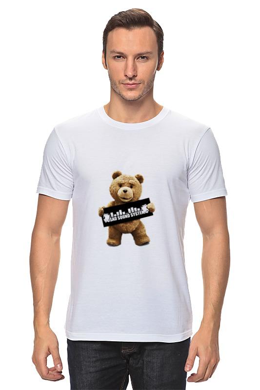 Футболка классическая Printio Ted pss футболка wearcraft premium printio ted pss