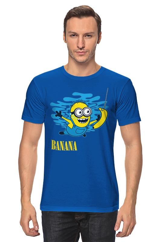 Футболка классическая Printio Banana. миньоны
