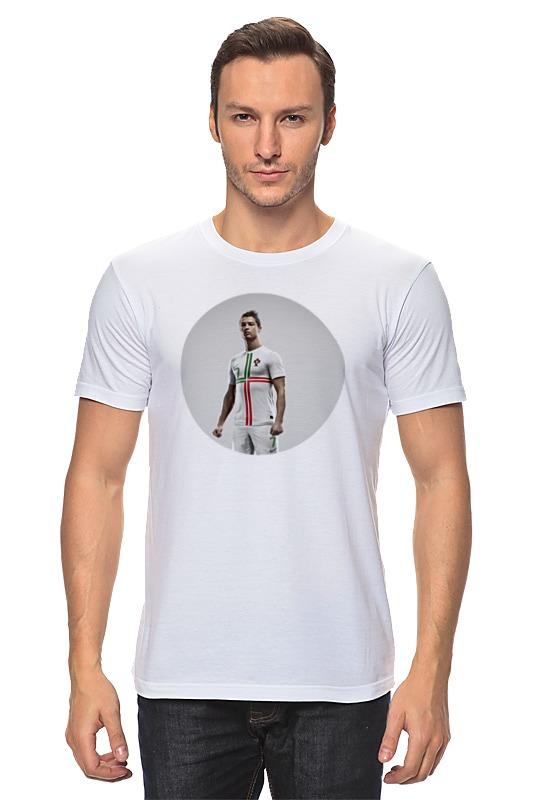 Футболка классическая Printio Cristiano ronaldo футболка классическая printio cristiano ronaldo
