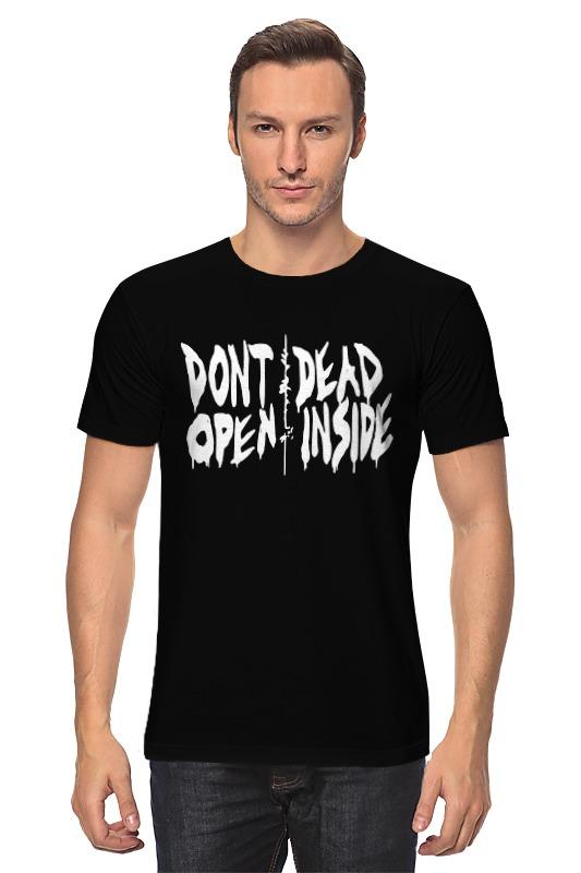 Футболка классическая Printio Don't open dead inside детская футболка классическая унисекс printio don t open dead inside