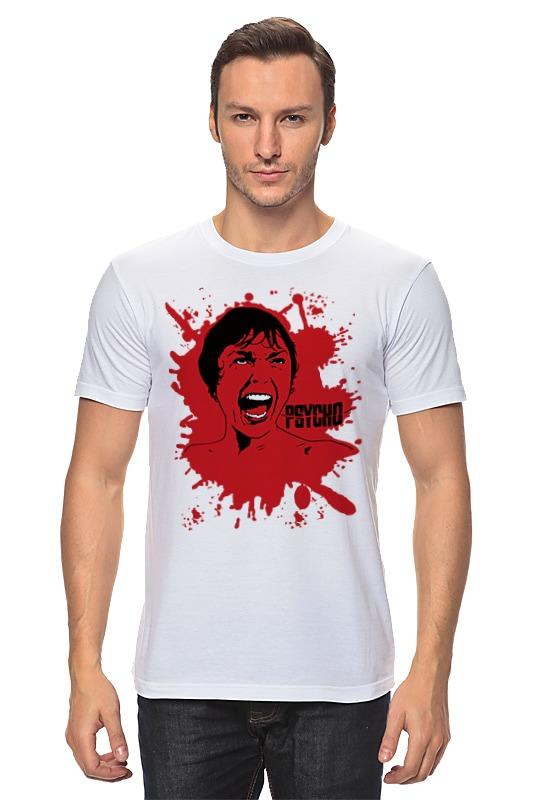 Футболка классическая Printio Психо (психоз) футболка классическая printio психо психоз