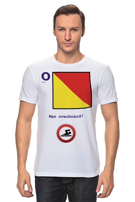 Футболка классическая Printio Oscar (o), флаг мсс (eng) майка классическая printio oscar o флаг мсс eng