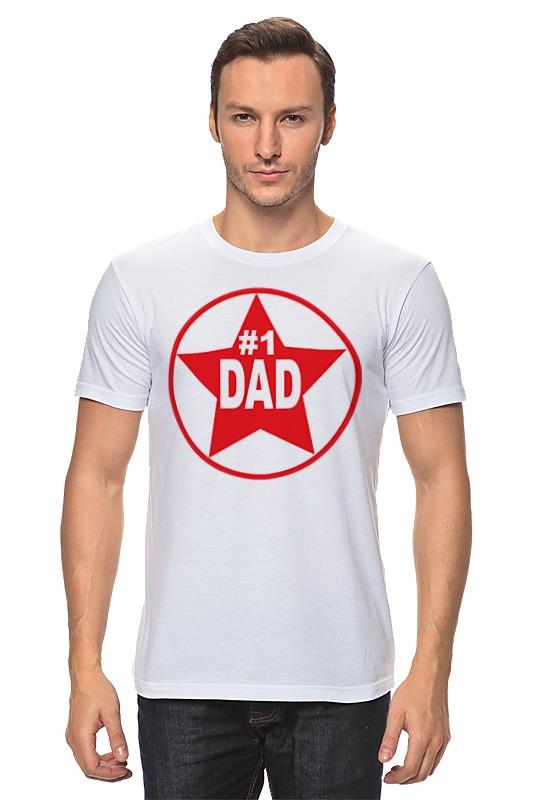 Футболка классическая Printio Папа номер 1 футболка номер 86
