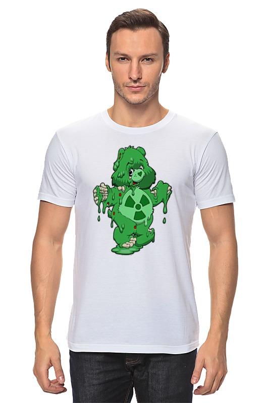 Футболка классическая Printio Радиоактивный мишка футболка классическая printio белый мишка
