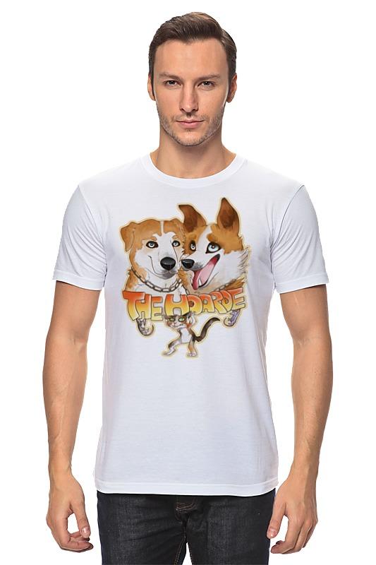 Футболка классическая Printio Две собаки цена