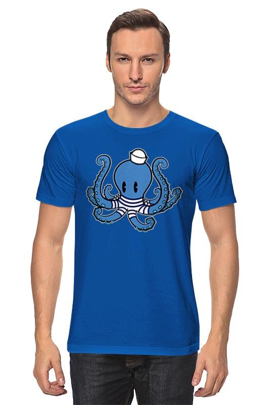 Футболка классическая Printio Осьминог морячок футболка классическая printio осьминог