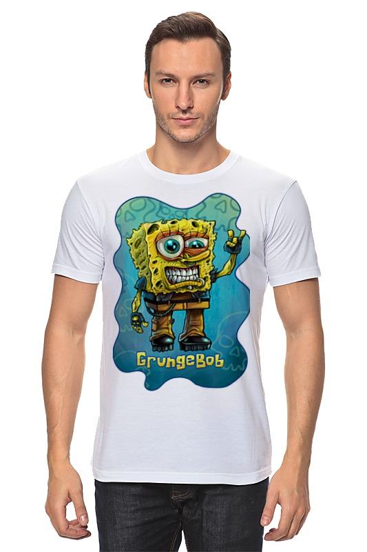 Футболка классическая Printio Grungebob (спанч боб) детская футболка классическая унисекс printio спанч боб