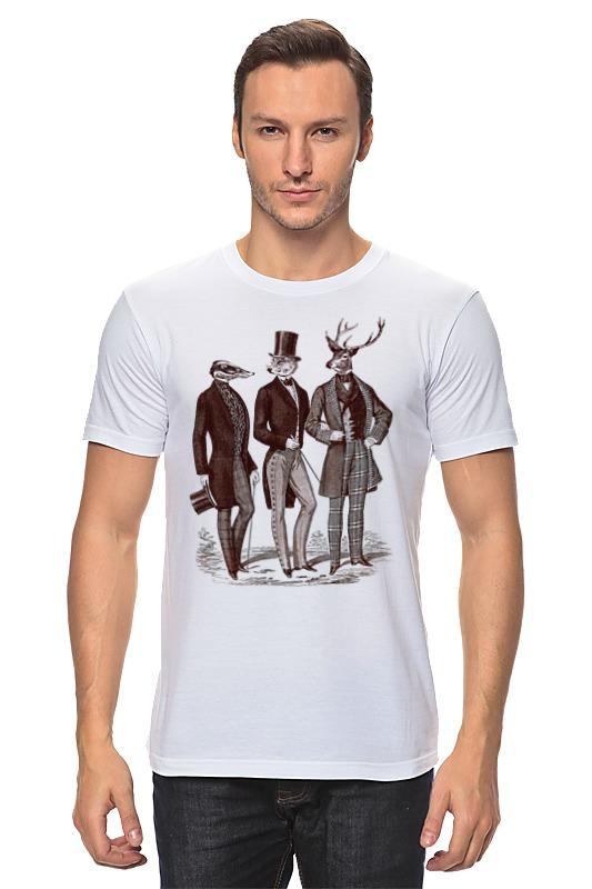 Футболка классическая Printio Джентльмены футболка классическая printio джентльмены удачи
