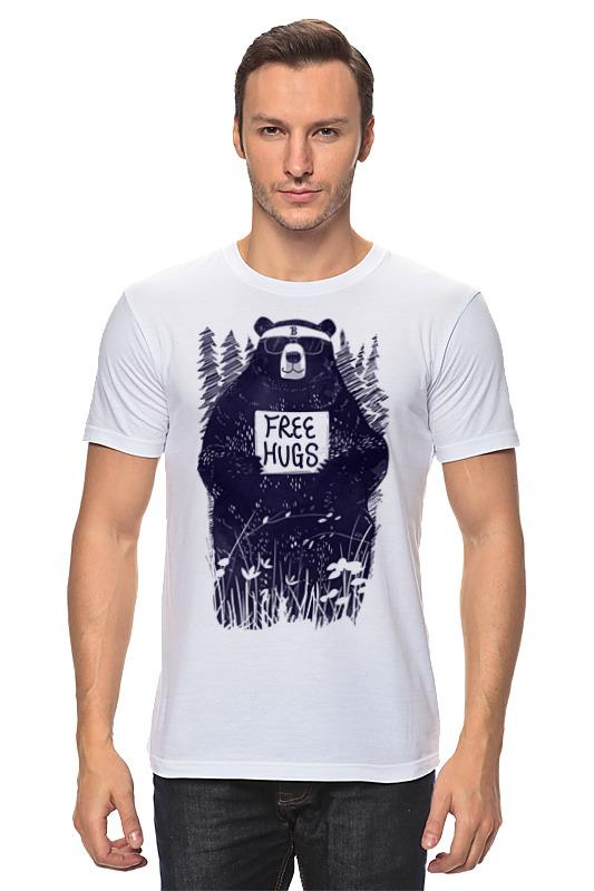 Футболка классическая Printio Бесплатные объятия футболка классическая printio объятия