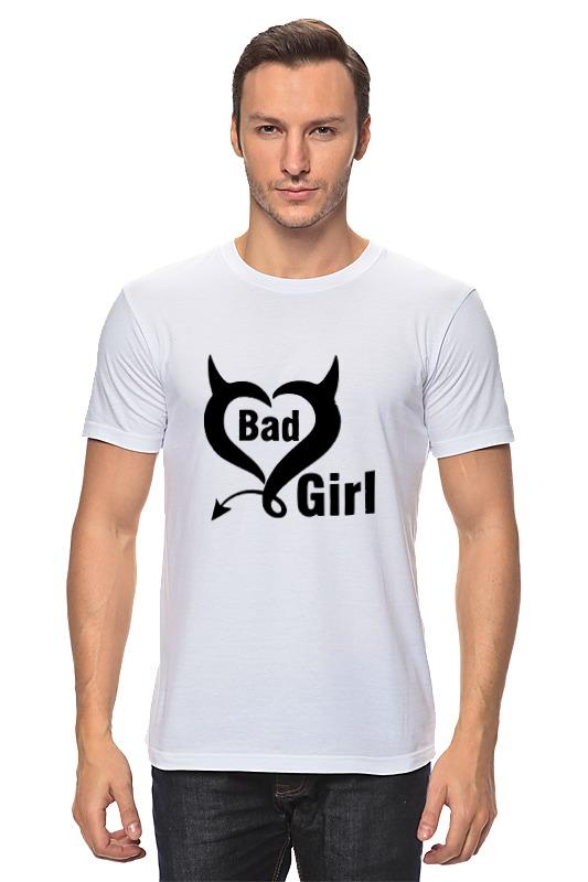 Футболка классическая Printio Bad girl (плохая девченка) цена и фото