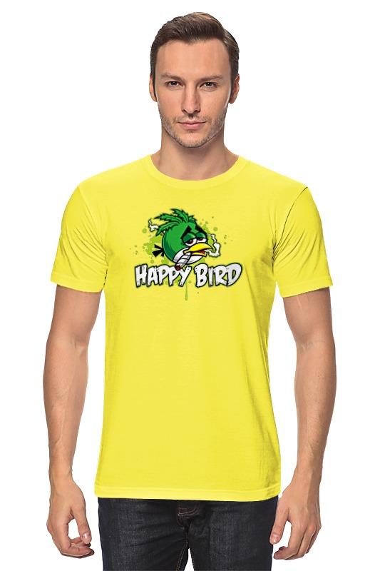 Футболка классическая Printio Happy bird детский велосипед для девочек novatrack cosmic х50269