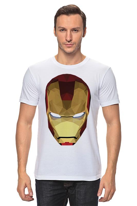 Футболка классическая Printio Железный человек футболка железный человек