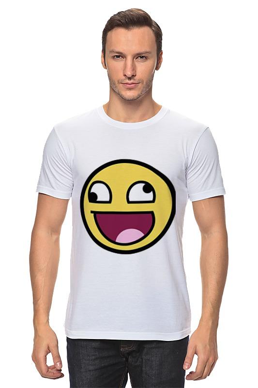 Футболка классическая Printio Awesome smile футболка классическая printio awesome smile