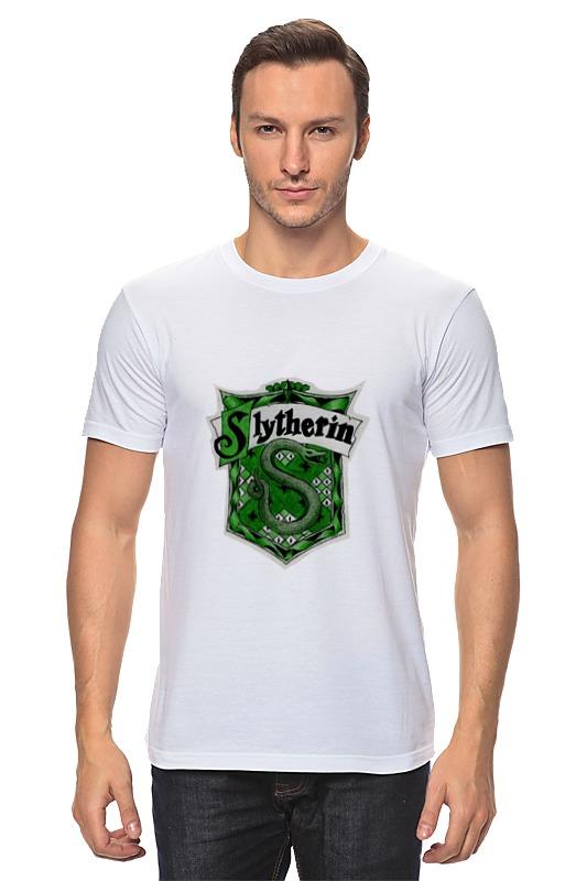 купить Футболка классическая Printio Slytherin quidditch team недорого