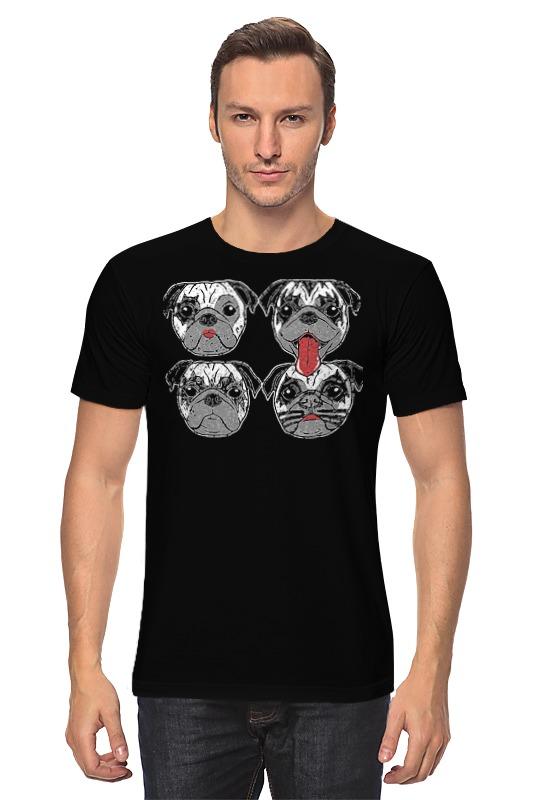 Футболка классическая Printio Kiss dogs sleeping dogs