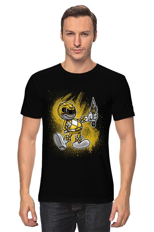 Футболка классическая Printio Желтый рейнджер детская футболка классическая унисекс printio желтый рейнджер