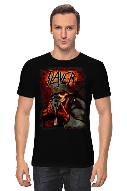 Футболка классическая Printio Slayer band