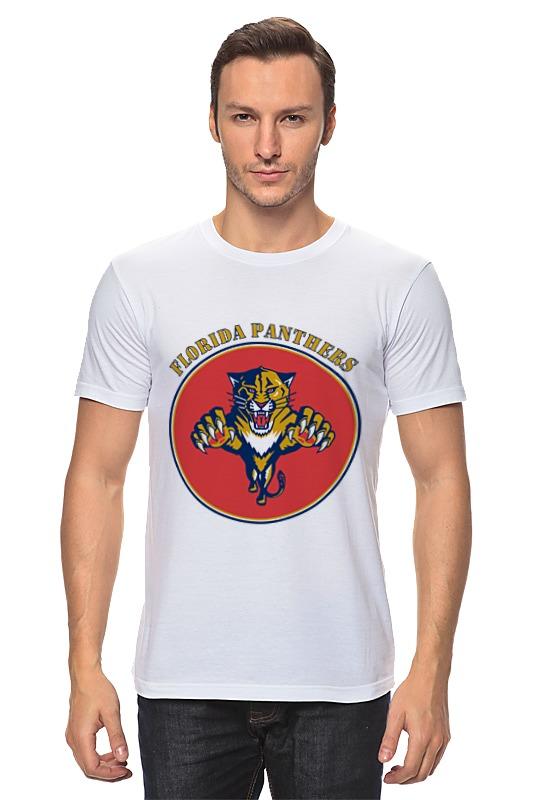 Футболка классическая Printio Флорида пантерс цена