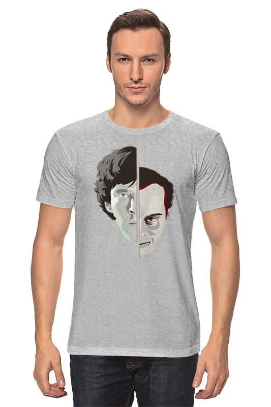Футболка классическая Printio Шерлок холмс ник картер американский шерлок холмс