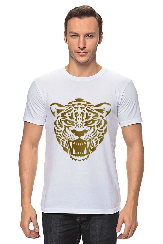 Футболка классическая Printio Леопард майка классическая printio леопард