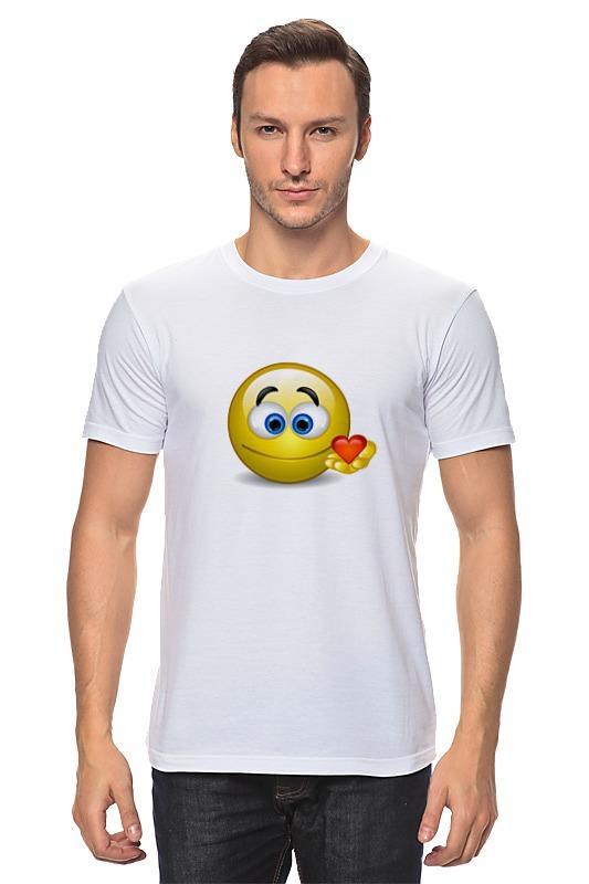 Футболка классическая Printio smiley футболка рингер printio smiley