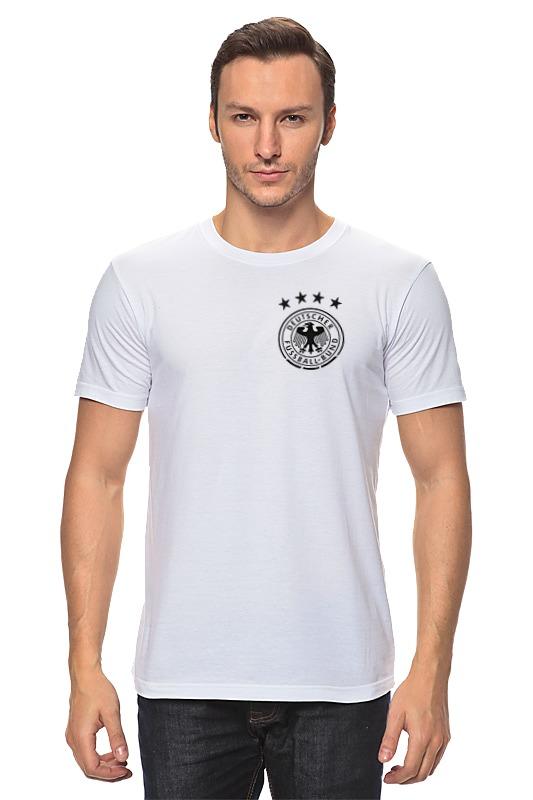 Футболка классическая Printio Сборная германии по футболу 2016 футболка для беременных printio с пробегом по германии
