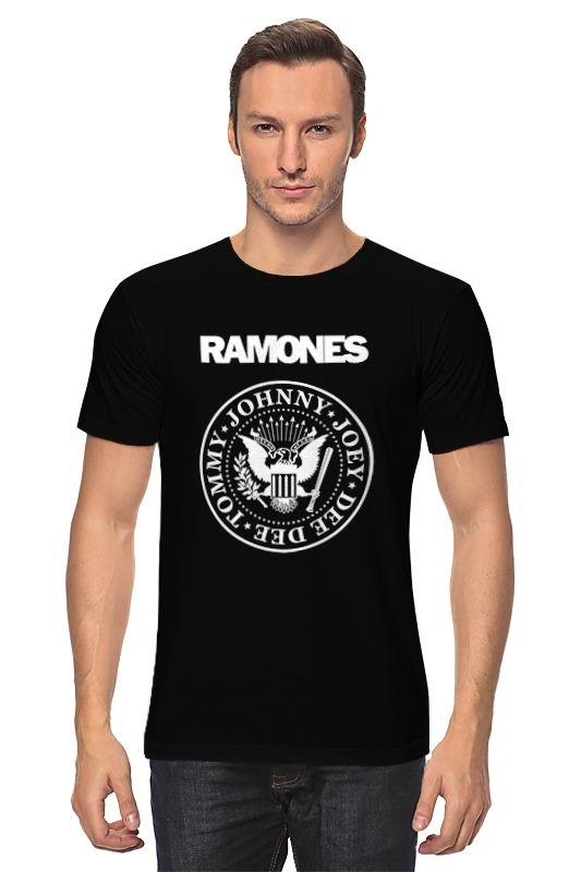 Футболка классическая Printio Ramones ramones chest logo