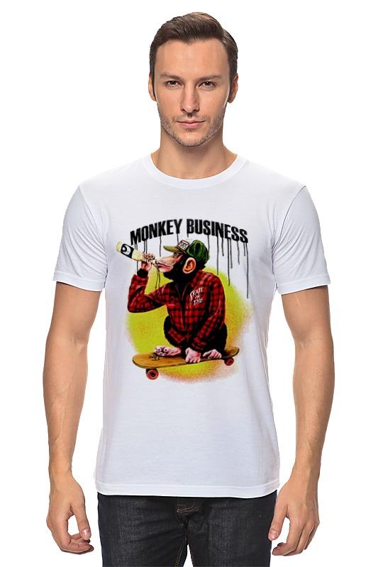 Printio Monkey (обезьяна) детская футболка классическая унисекс printio обезьяна monkey