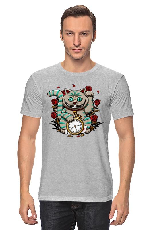Футболка классическая Printio Чеширский кот (алиса в стране чудес) samsung star 2 киев