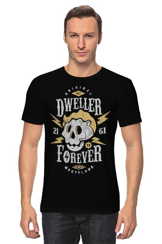 Футболка классическая Printio Fallout. dweller forever футболка классическая printio fallout фэллаут