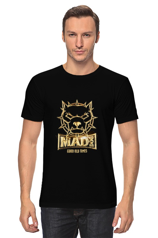 Футболка классическая Printio Mad dog gold сумка printio gta 5 dog