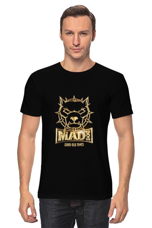 Футболка классическая Printio Mad dog gold mad about organics all natural dog