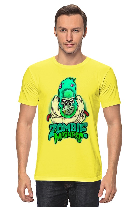 Футболка классическая Printio Zombie madness