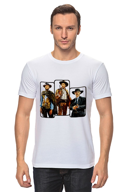 Футболка классическая Printio Хороший, плохой, злой футболка классическая printio плохой парень
