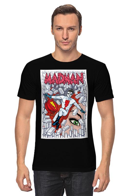Футболка классическая Printio Madman футболка классическая printio авто уаз