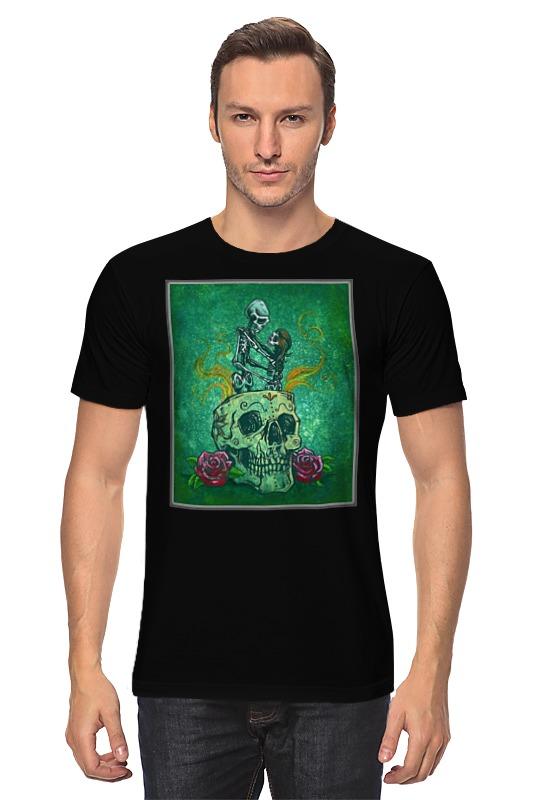 Футболка классическая Printio Skeleton art persian art