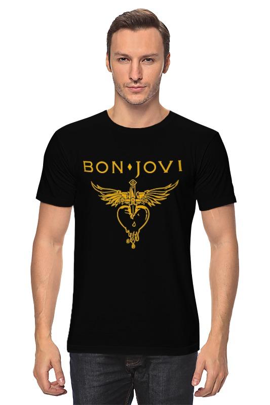 Футболка классическая Printio Bon jovi