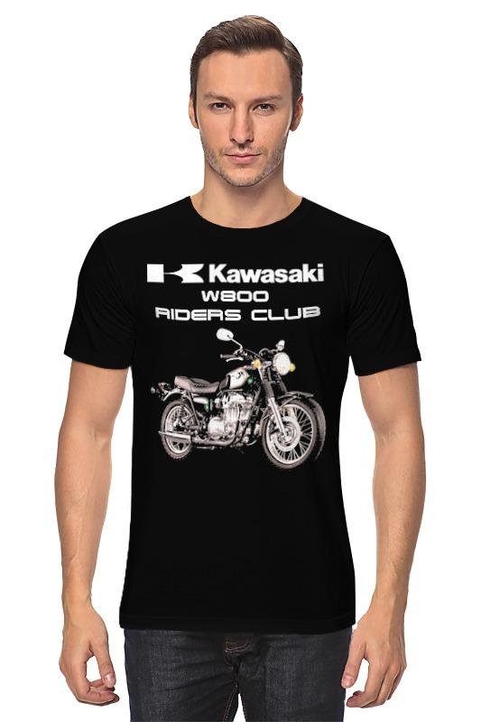 Футболка классическая Printio Kawasaki w800