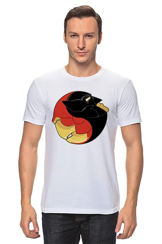 Футболка классическая Printio Batman x iron man
