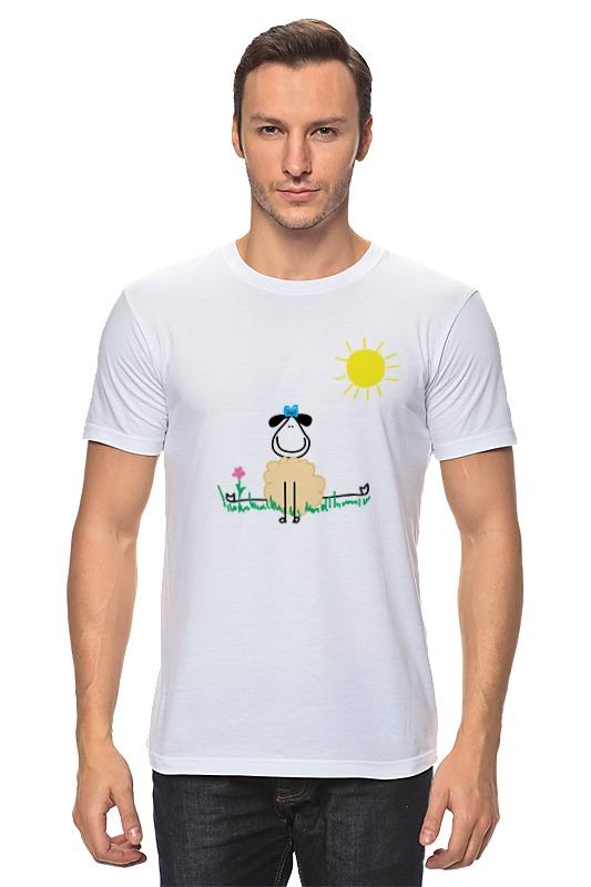 Футболка классическая Printio Овечка настольная игра яигрушка раз овечка два овечка…