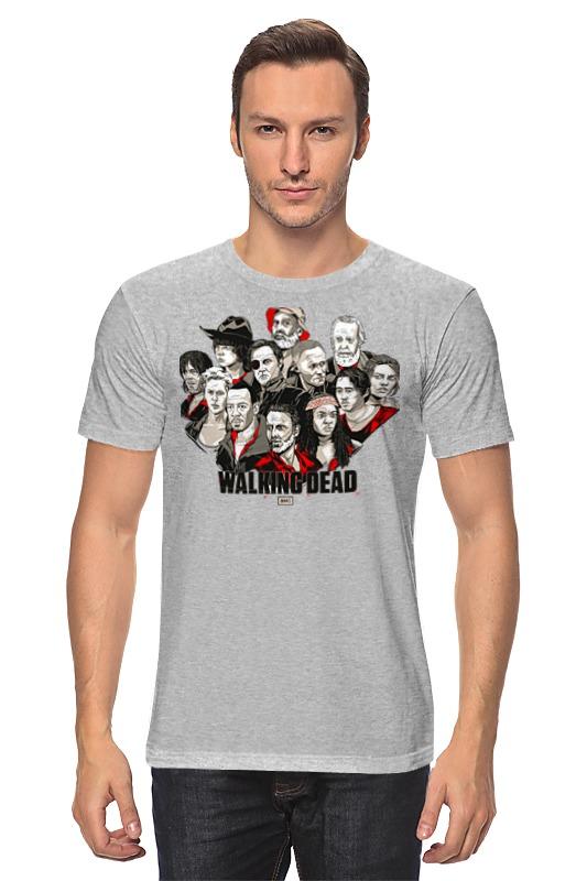 Футболка классическая Printio The walking dead футболка up dead up shark серый меланж m