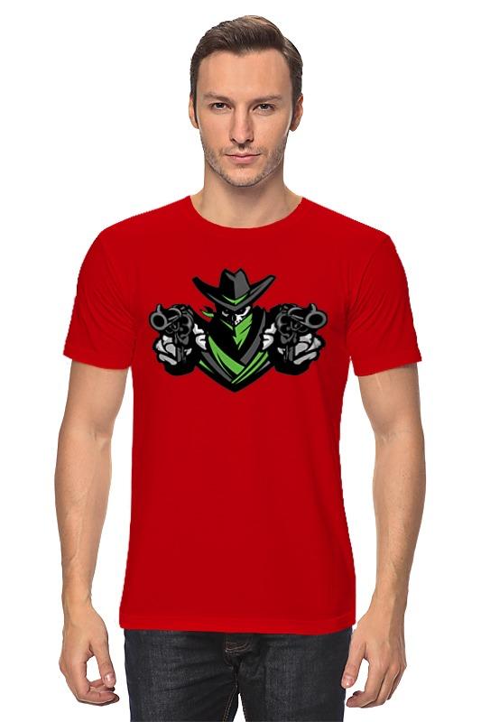 Футболка классическая Printio Ковбой футболка классическая printio программирование