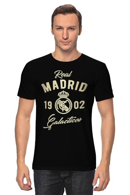 Футболка классическая Printio Реал мадрид