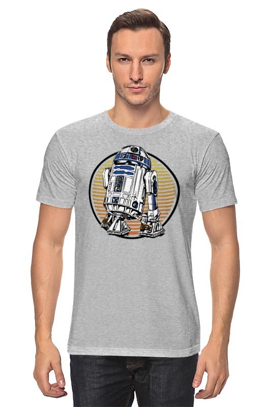 Футболка классическая Printio Дроид r2-d2 футболка классическая printio r2 d2 star wars