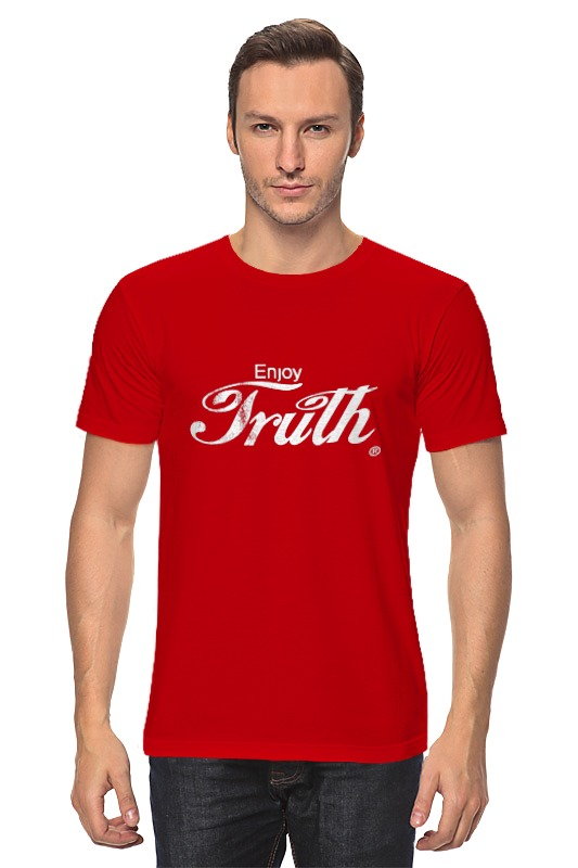 Футболка классическая Printio Coca cola enjoy truth! кружка printio coca cola