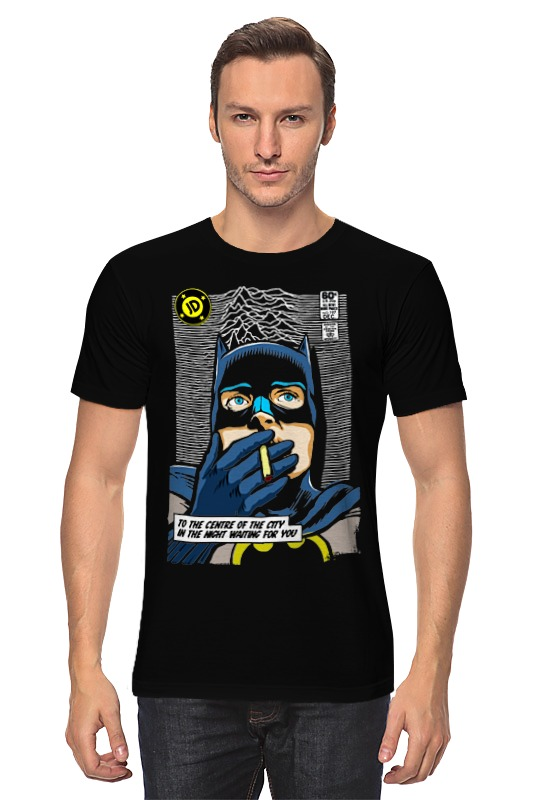 Футболка классическая Printio Batman waiting for you лонгслив printio batman waiting for you