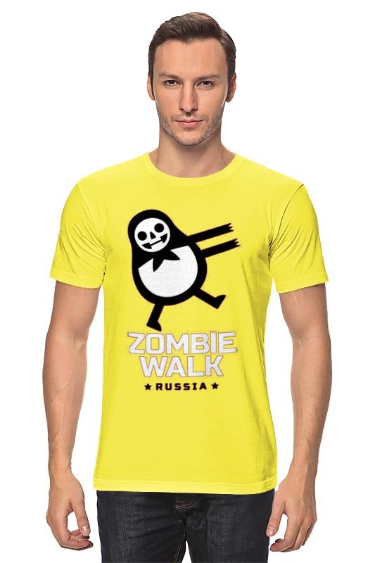 Футболка классическая Printio Zombie walk - russia
